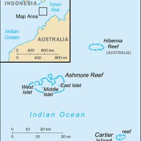 Ashmore and Cartier Islands is listed (or ranked) 1 on the list Australian Dollar - Nations Using This Currency
