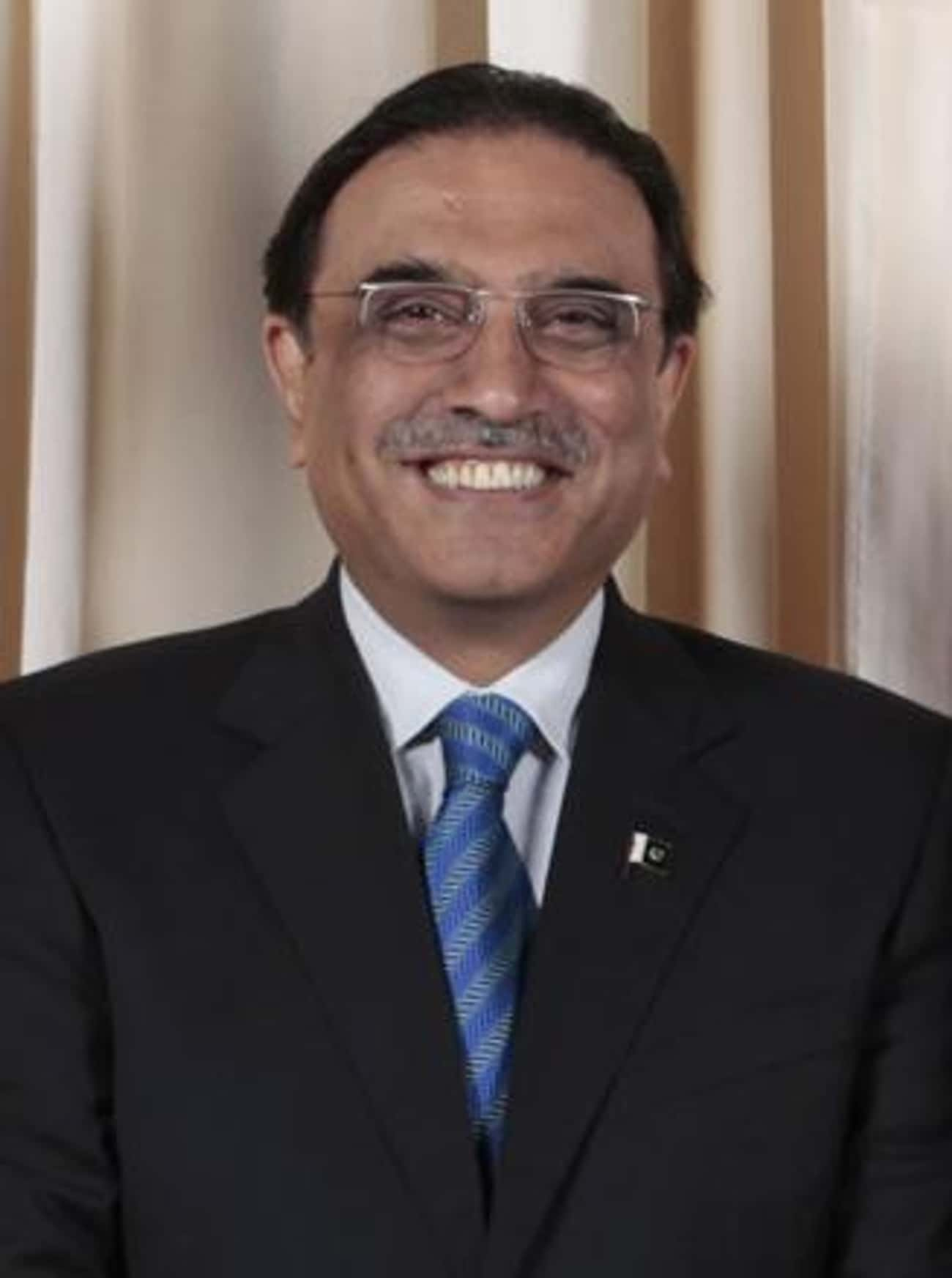 Asif Ali Zardari is listed (or ranked) 3 on the list Members of the Bhutto Family