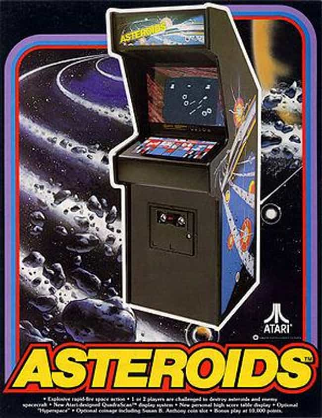 Asteroids is listed (or ranked) 1 on the list People Share Stories Of Their First Video Game Experience
