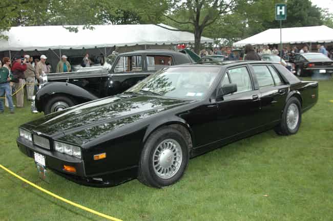Aston Martin Lagonda is listed (or ranked) 3 on the list Full List of Aston Martin Models