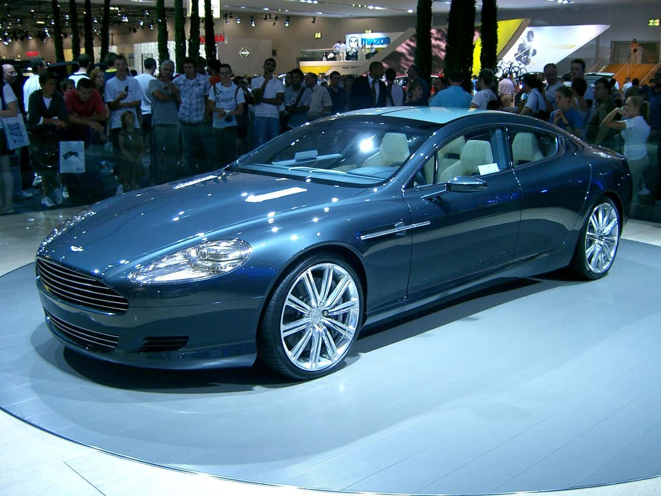 Aston Martin Rapide is listed (or ranked) 2 on the list Full List of Aston Martin Models