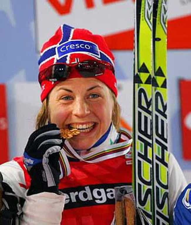 Astrid Uhrenholdt Jacobs... is listed (or ranked) 1 on the list Famous Cross-country Skiers from Norway