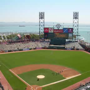 AT&T Park is listed (or ranked) 13 on the list The Best MLB Ballparks