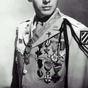 Audie Murphy is listed (or ranked) 16 on the list The Greatest Western Movie Stars