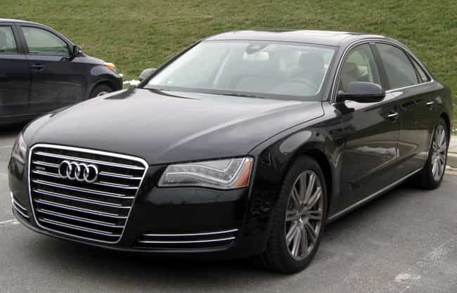 Audi A8 is listed (or ranked) 4 on the list Full List of Audi Models