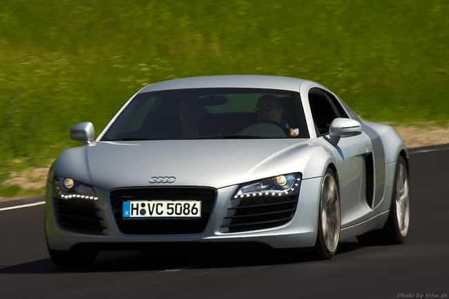 audi r8 is listed or ranked 1 on the list full list of audi