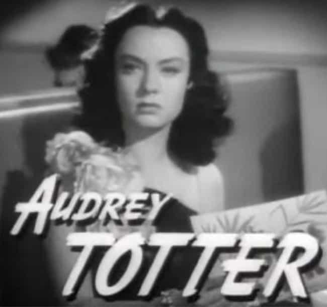 Audrey Totter is listed (or ranked) 3 on the list Women Who Clark Gable Has Dated