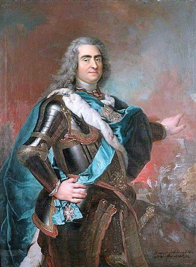 Augustus II the Strong is listed (or ranked) 1 on the list Members of the House Of Wettin