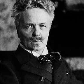 August Strindberg is listed (or ranked) 1 on the list Famous People Named August