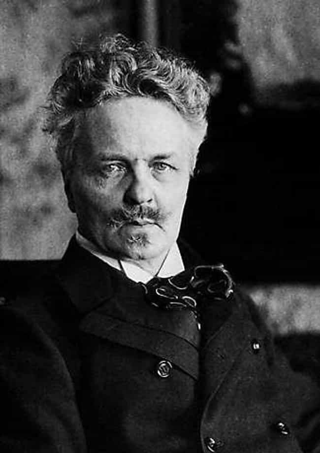 August Strindberg is listed (or ranked) 3 on the list Famous Poets from Sweden