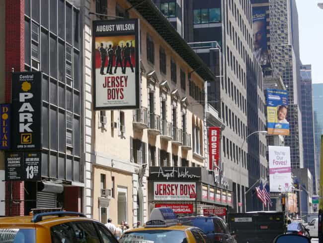 August Wilson Theatre is listed (or ranked) 3 on the list List of C. Howard Crane Architecture