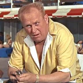 Auric Goldfinger is listed (or ranked) 17 on the list The Greatest Billionaire Characters in Film