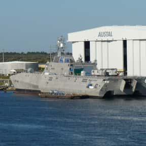 Austal USA is listed (or ranked) 13 on the list Companies Headquartered in Alabama