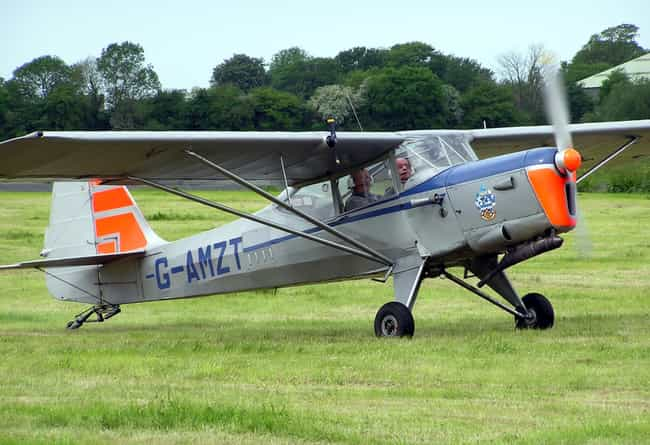 Auster Aiglet Trainer is listed (or ranked) 1 on the list Planes Used By Pakistan Air Force