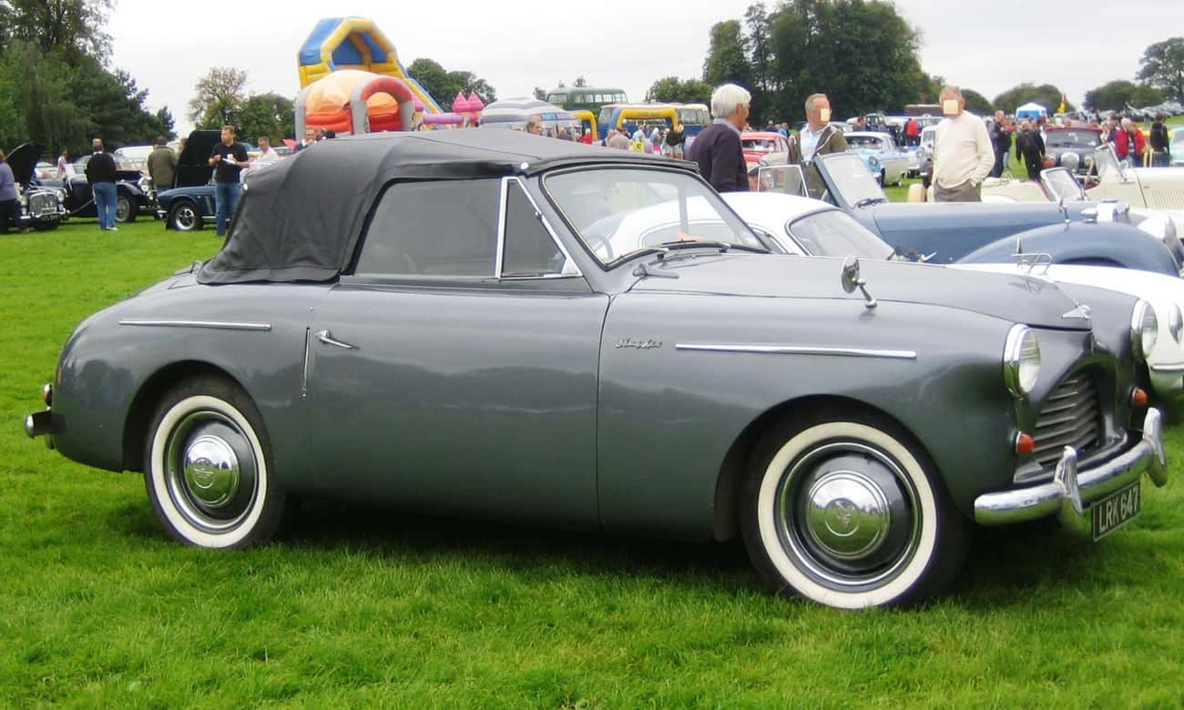 Austin A40 Sports is listed (or ranked) 3 on the list Full List of Austin Motor Company Models