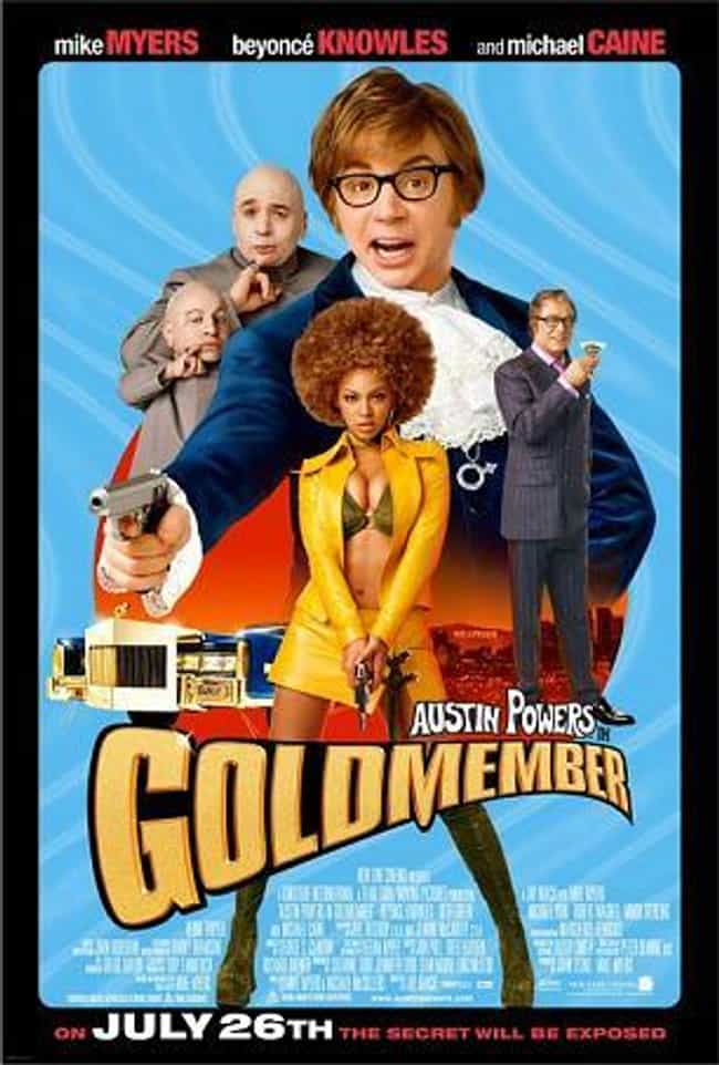 Austin Powers: Goldmember is listed (or ranked) 2 on the list The Best Britney Spears Movies