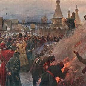 Avvakum is listed (or ranked) 10 on the list People Executed by Burning