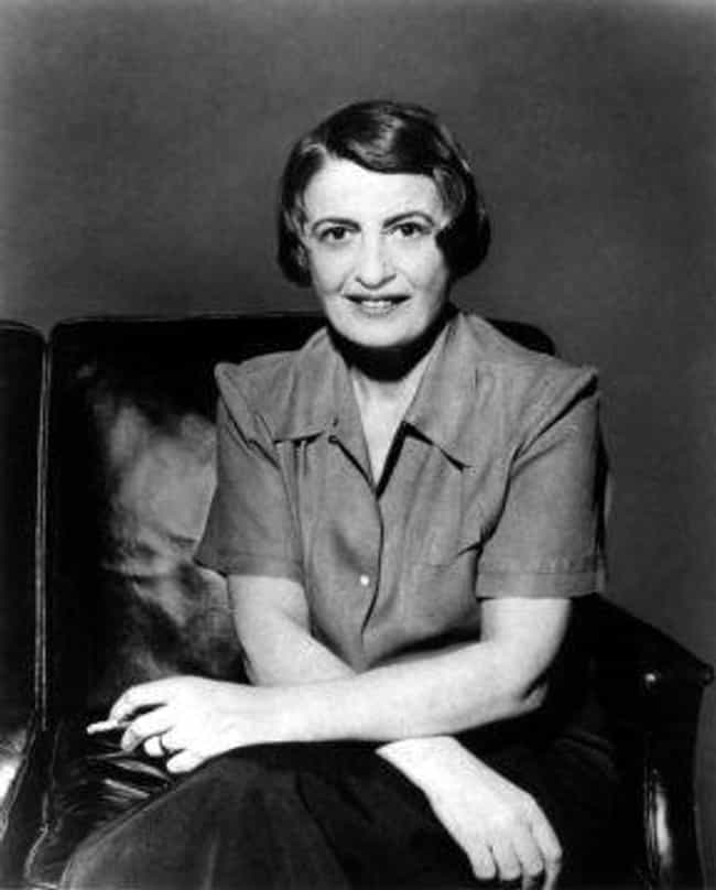 Ayn Rand is listed (or ranked) 2 on the list Famous Female Novelists