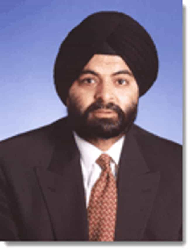 Ajay Banga is listed (or ranked) 2 on the list Famous Bankers from India