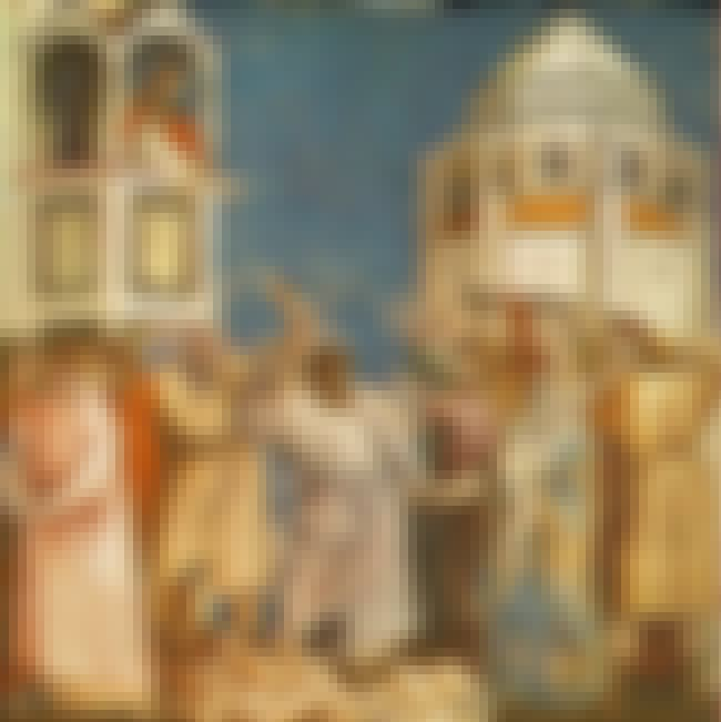Massacre of the Innocents is listed (or ranked) 4 on the list List of Famous Giotto Di Bondone Artwork