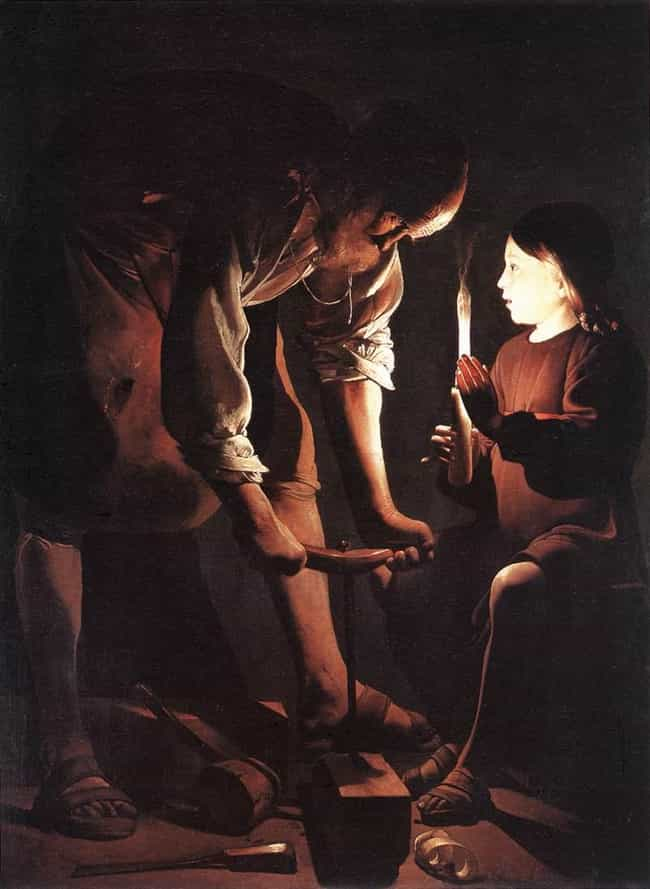 Saint Joseph is listed (or ranked) 3 on the list Famous Georges de La Tour Paintings