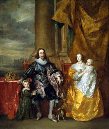Charles I and His Wife Henriet is listed (or ranked) 1 on the list Famous Anthony van Dyck Paintings