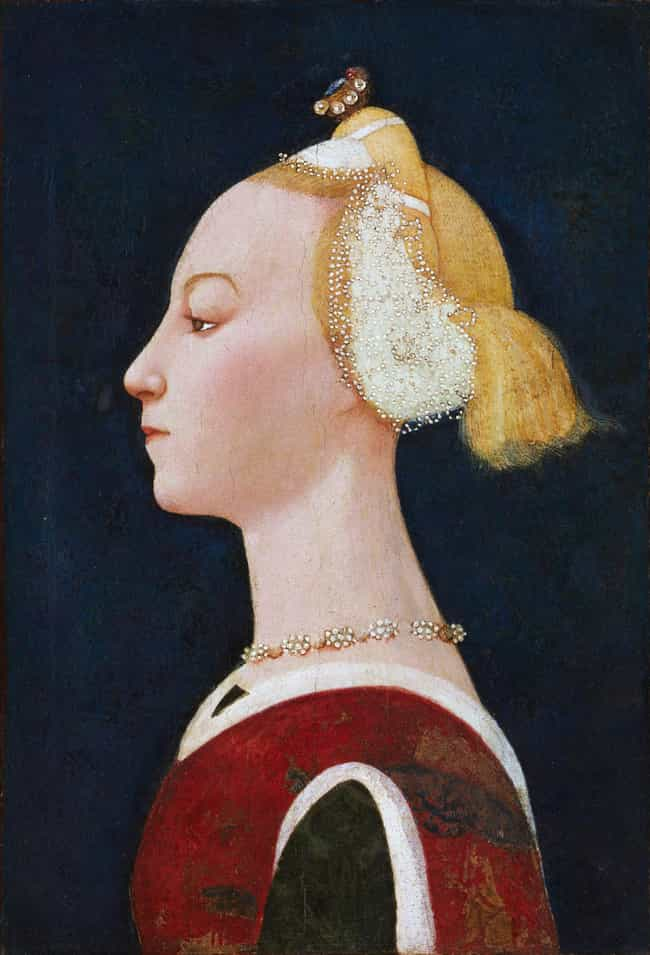 Portrait of a Lady is listed (or ranked) 4 on the list Famous Early renaissance Paintings