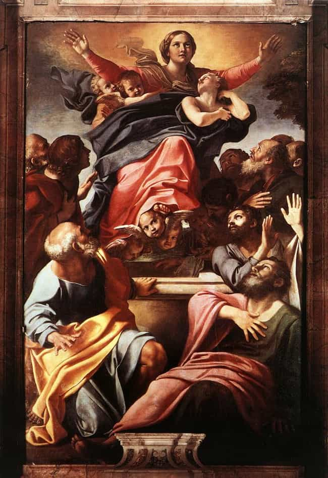 Assumption of the Virgin... is listed (or ranked) 2 on the list Famous Annibale Carracci Paintings