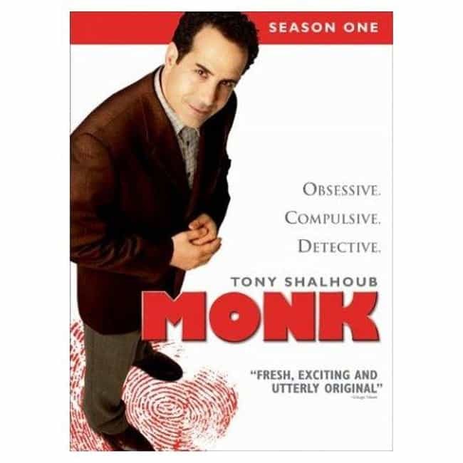 Monk - Season 1 is listed (or ranked) 3 on the list The Best Seasons of Monk