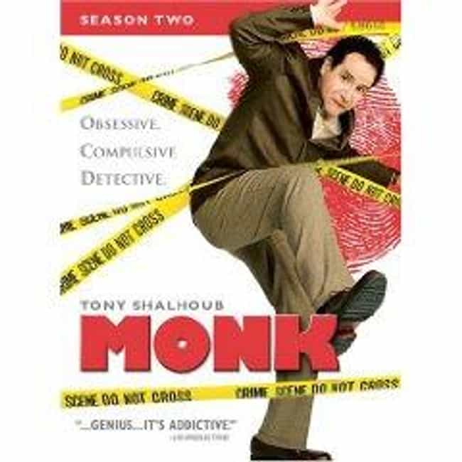 Monk - Season 2 is listed (or ranked) 1 on the list The Best Seasons of Monk