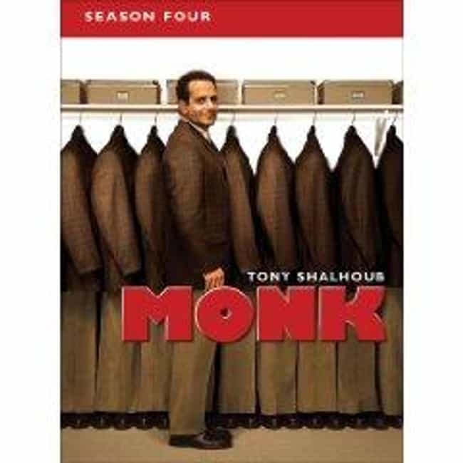 Monk - Season 4 is listed (or ranked) 4 on the list The Best Seasons of Monk