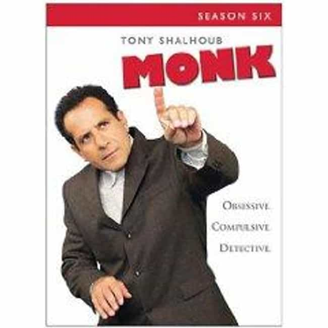 Monk - Season 6 is listed (or ranked) 3 on the list The Best Seasons of Monk