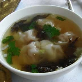 Wonton Soup is listed (or ranked) 20 on the list The Best Food For A Hangover