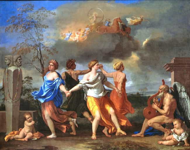 A Dance to the Music of Time is listed (or ranked) 1 on the list Famous Classicism Artwork