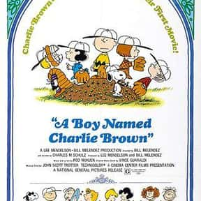 A Boy Named Charlie Brown is listed (or ranked) 16 on the list The Best Kids Movies of the 1960s