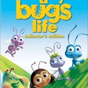 A Bug's Life is listed (or ranked) 9 on the list The Best '90s Cartoon Movies
