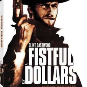 A Fistful of Dollars is listed (or ranked) 23 on the list List of All Movies Released in 1964