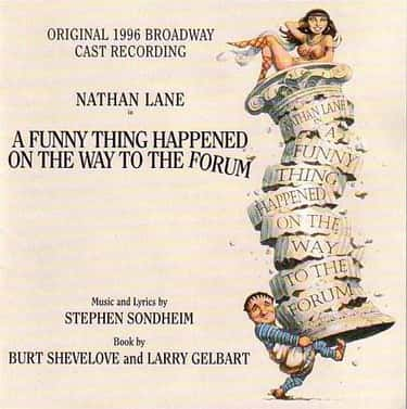 A Funny Thing Happened on the  is listed (or ranked) 1 on the list Stephen Sondheim Plays List