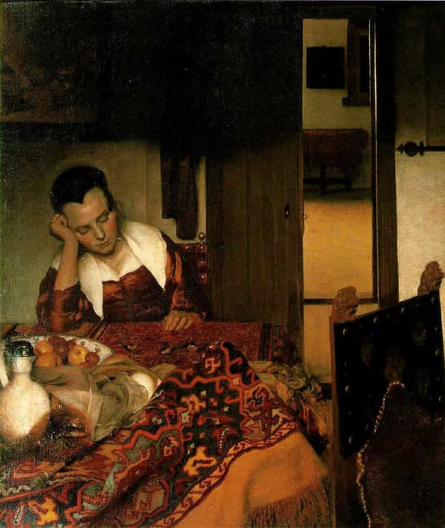 A Girl Asleep is listed (or ranked) 3 on the list Famous Genre Paintings from the Dutch Golden Age Movement