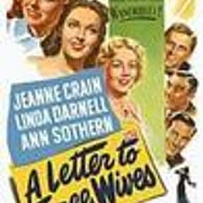 A Letter to Three Wives is listed (or ranked) 16 on the list The Best Kirk Douglas Movies