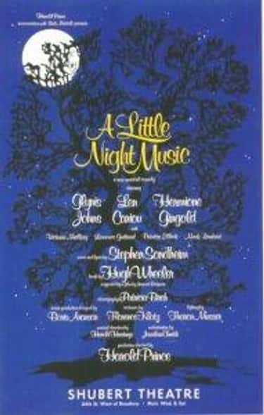 A Little Night Music is listed (or ranked) 2 on the list Stephen Sondheim Plays List