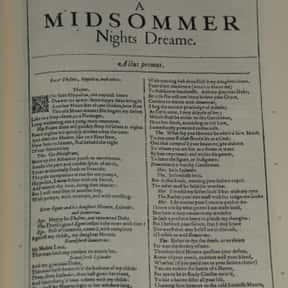 A Midsummer Night's Dream is listed (or ranked) 16 on the list William Shakespeare's Plays