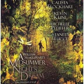 A Midsummer Night's Dream is listed (or ranked) 6 on the list The Best Shakespeare Film Adaptations