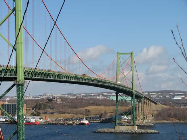A. Murray MacKay Bridge is listed (or ranked) 1 on the list Bridges in Canada