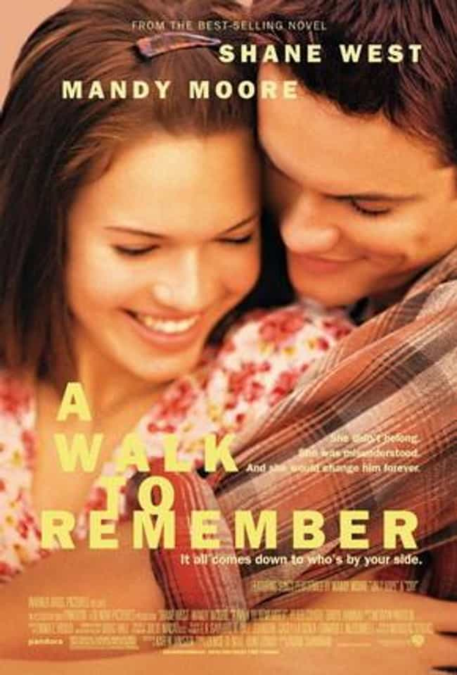 A Walk to Remember is listed (or ranked) 4 on the list What to Watch If You Love The Fault in Our Stars
