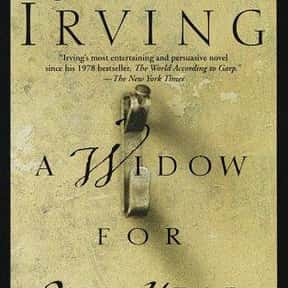 A Widow for One Year is listed (or ranked) 24 on the list 102 Books Recommended By Stephen King
