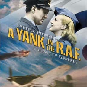 A Yank in the R.A.F. is listed (or ranked) 18 on the list The Best Romantic Comedies of the 1940s