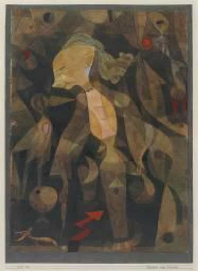 A Young Lady's Adventure... is listed (or ranked) 2 on the list Famous Paul Klee Paintings