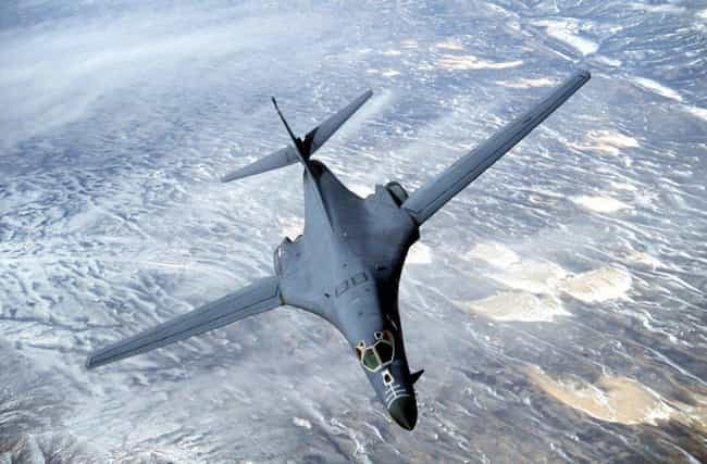 Rockwell B-1 Lancer is listed (or ranked) 4 on the list The Biggest Military Wastes of Money