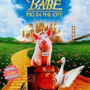 Babe: Pig in the City is listed (or ranked) 8 on the list The Online Film Critics Society's Top Overlooked Films '90